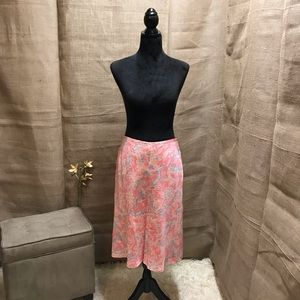 Ann Taylor 100% Silk Skirt